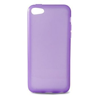 iPhone 5C Ksix Flex TPU-Kotelo Purppura