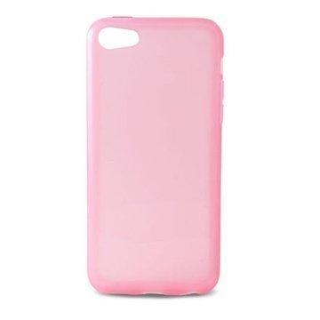 iPhone 5C Ksix Flex TPU-Kotelo Vaaleanpunainen