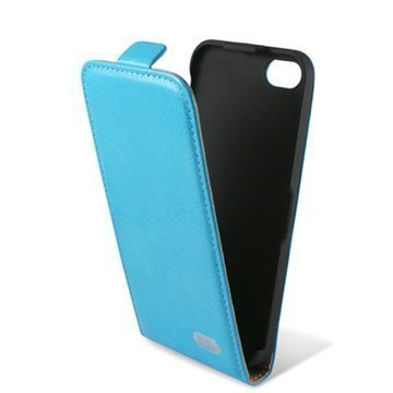 iPhone 5C Ksix Flip Leather Case Turqoise