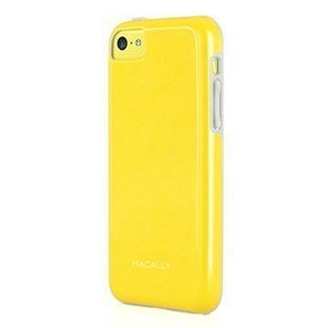 iPhone 5C Macally TPU-Kotelo Keltainen