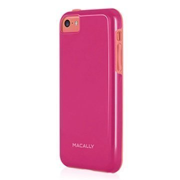 iPhone 5C Macally TPU-Kotelo Pinkki