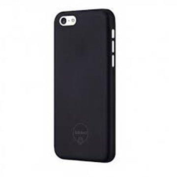 iPhone 5C Ozaki O!Coat Jelly Snap-on Suojakuori Musta