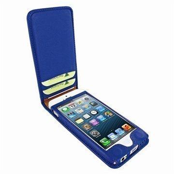 iPhone 5C Piel Frama Classic Magnetic Nahkakotelo Sininen