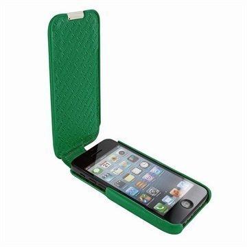 iPhone 5C Piel Frama Imagnum Nahkakotelo Vihreä