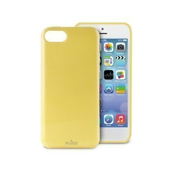 iPhone 5C Puro Anti-Shock Kotelo Keltainen