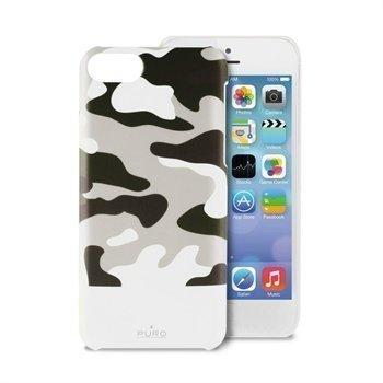 iPhone 5C Puro Camou Case White