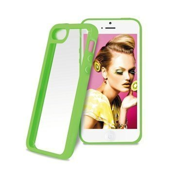 iPhone 5C Puro Clear Case Green