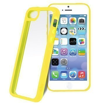 iPhone 5C Puro Clear Case Yellow