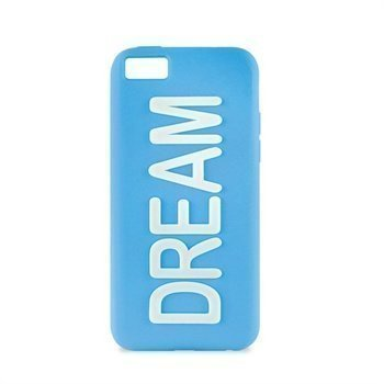 iPhone 5C Puro Dream Silikonikotelo Sininen