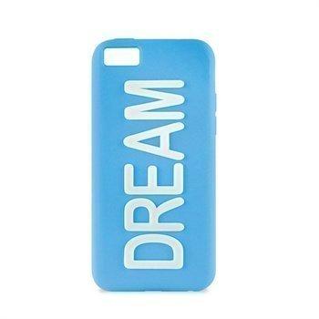 iPhone 5C Puro Dream Silikonikotelo Sininen