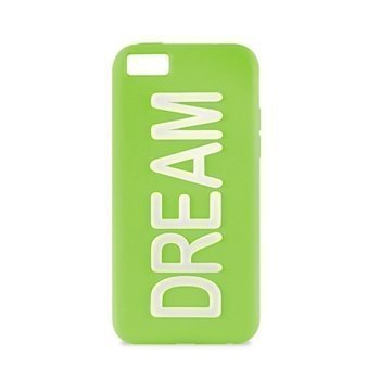 iPhone 5C Puro Dream Silikonikotelo Vihreä