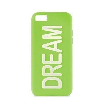 iPhone 5C Puro Dream Silikonikotelo Vihreä
