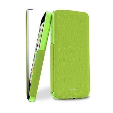 iPhone 5C Puro Ultra Slim Flip Case Green