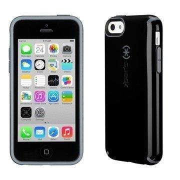 iPhone 5C Speck CandyShell Kotelo Musta / Liuskekivi Harmaa