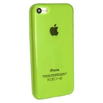 iPhone 5C iGadgitz Crystal TPU-Kotelo Vihreä