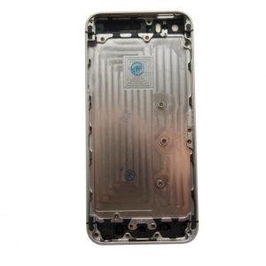 iPhone 5S Takakansi / runko + pienosat Musta