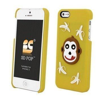 iPhone 5S iPhone SE Beyond Cell 3D Pop Apina Suojakuori Keltainen