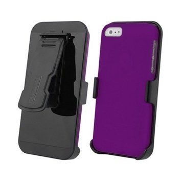 iPhone 5S iPhone SE Beyond Cell 3in1 Combo Case Purple / Black