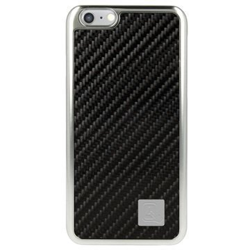iPhone 6 / 6S 4smarts Modena Kova Suojakuori Hiilikuitu / Musta