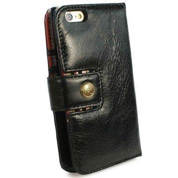 iPhone 6 / 6S Alston Craig Vintage Avattava Aito Nahkakotelo Ruskea