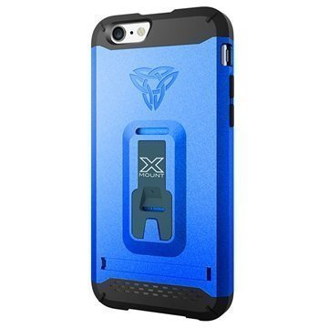 iPhone 6 / 6S Armor-X CX-Mi6 Rugged X-Mount Suojakuori Dynaaminen Sininen