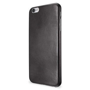 iPhone 6 / 6S Artwizz Leather Clip Nahkakotelo Musta