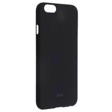 iPhone 6 / 6S Artwizz Rubber Clip Kotelo Musta