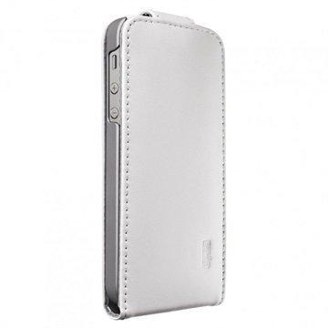 iPhone 6 / 6S Artwizz SeeJacket Pystysuuntainen Läpällinen Nahkakotelo Valkoinen