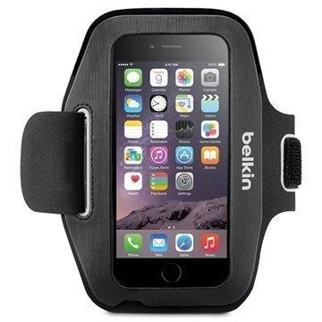 iPhone 6 / 6S Belkin Sport-Fit Käsivarsikotelo Musta