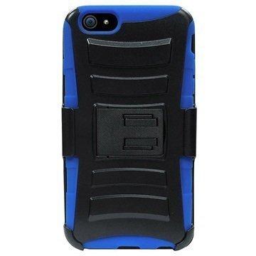 iPhone 6 / 6S Beyond Cell Armor Combo Suojakotelo Musta / Sininen