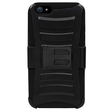 iPhone 6 / 6S Beyond Cell Armor Combo Suojakotelo Musta