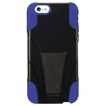 iPhone 6 / 6S Beyond Cell Hyber Shell Kotelo Musta / Sininen