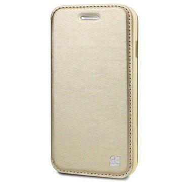 iPhone 6 / 6S Beyond Cell Infolio A Nahkainen Lompakkokotelo Samppanja