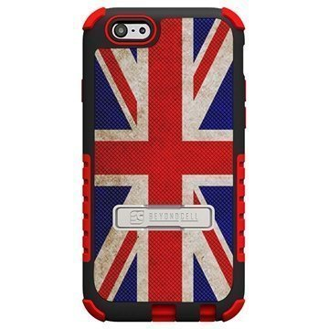 iPhone 6 / 6S Beyond Cell Tri Shield Design Hybrid Suojakuori British Flag