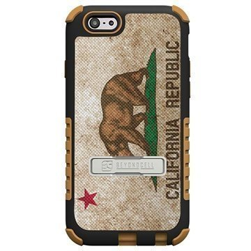 iPhone 6 / 6S Beyond Cell Tri Shield Design Hybrid Suojakuori California Flag