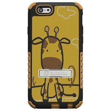 iPhone 6 / 6S Beyond Cell Tri Shield Design Hybrid Suojakuori Giraffe