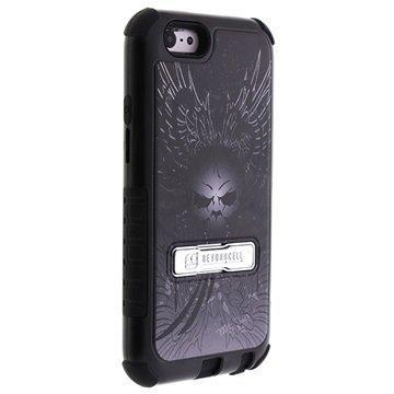 iPhone 6 / 6S Beyond Cell Tri Shield Design Hybrid Suojakuori Pääkallo-siivet