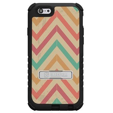 iPhone 6 / 6S Beyond Cell Tri Shield Design Hybrid Suojakuori Pastel Chevron