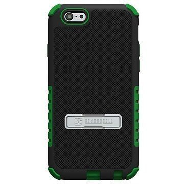 iPhone 6 / 6S Beyond Cell Tri Shield Hybrid Case Black / Green