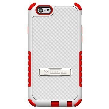 iPhone 6 / 6S Beyond Cell Tri Shield Hybrid Case White / Red