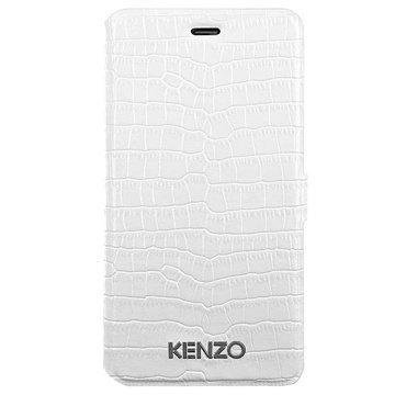 iPhone 6 / 6S BigBen Interactive Kenzo Folio Kotelo Krokotiili Valkoinen