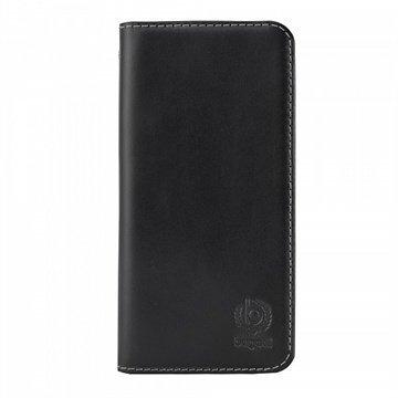 iPhone 6 / 6S Bugatti BookCover Oslo Läppäkotelo Musta