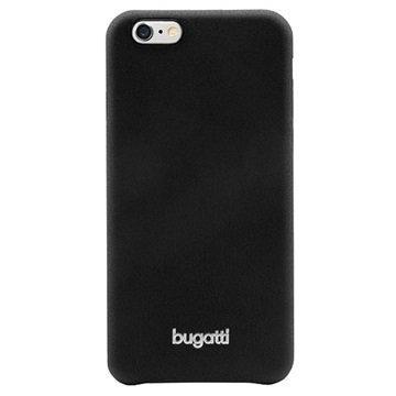 iPhone 6 / 6S Bugatti SoftCover Nice Kotelo Musta