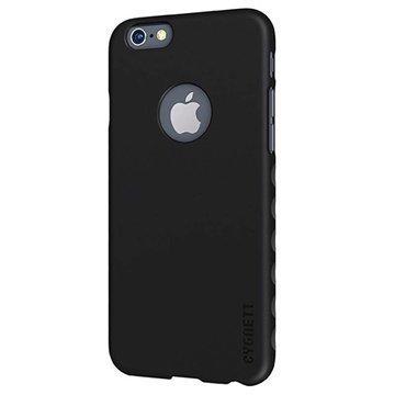 iPhone 6 / 6S Cygnett AeroGrip Kotelo Musta