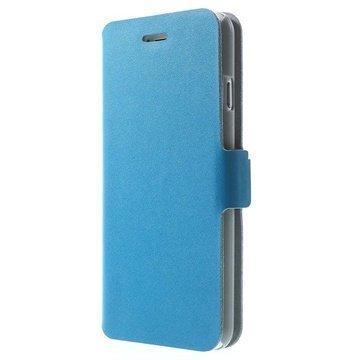 iPhone 6 / 6S Doormoon Wallet Nahkakotelo Sininen