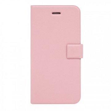 iPhone 6 / 6S Fenice Diario Lompakkomallinen Kotelo Baby Vaaleanpunainen
