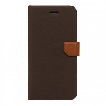 iPhone 6 / 6S Fenice Diario Ver.2 Kotelo Ruskea / Prestige Ruskea