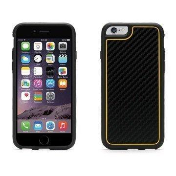 iPhone 6 / 6S Griffin Identity Grafiitti Kotelo Musta / Keltainen