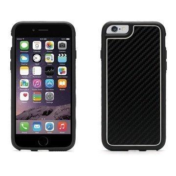 iPhone 6 / 6S Griffin Identity Grafiitti Kotelo Musta / Valkoinen