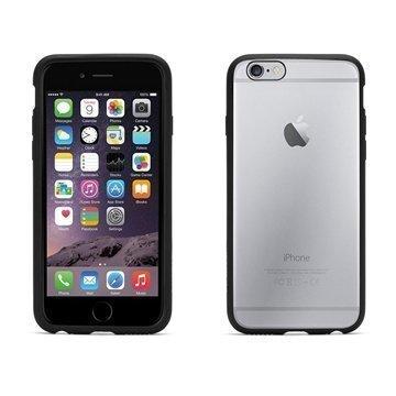 iPhone 6 / 6S Griffin Reveal Kotelo Musta / Läpinäkyvä